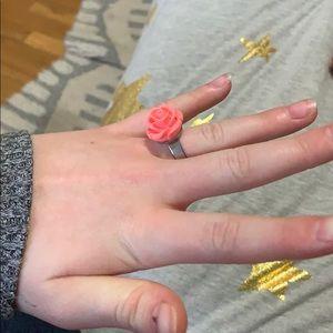Two rose rings